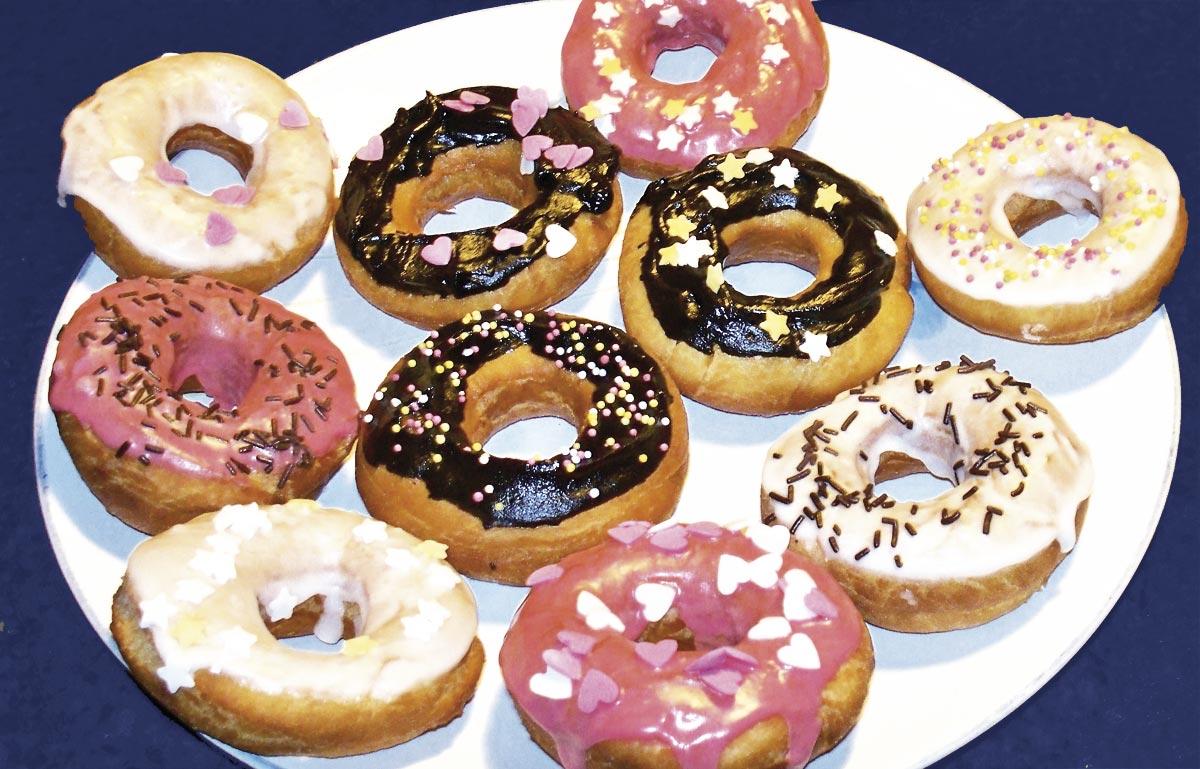 Donuts colorés - EmilieRamèneSaFraise