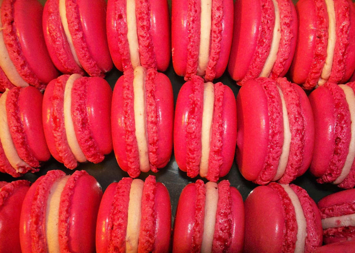 Macarons Framboises - EmilieRamèneSaFraise
