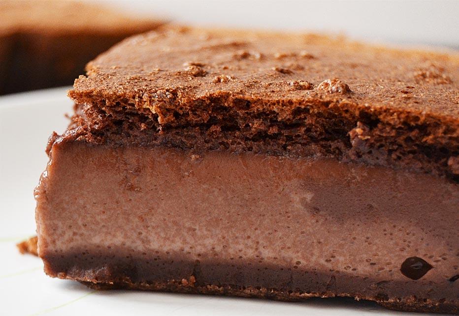 Le gâteau magique au chocolat - EmilieRamènesaFraise