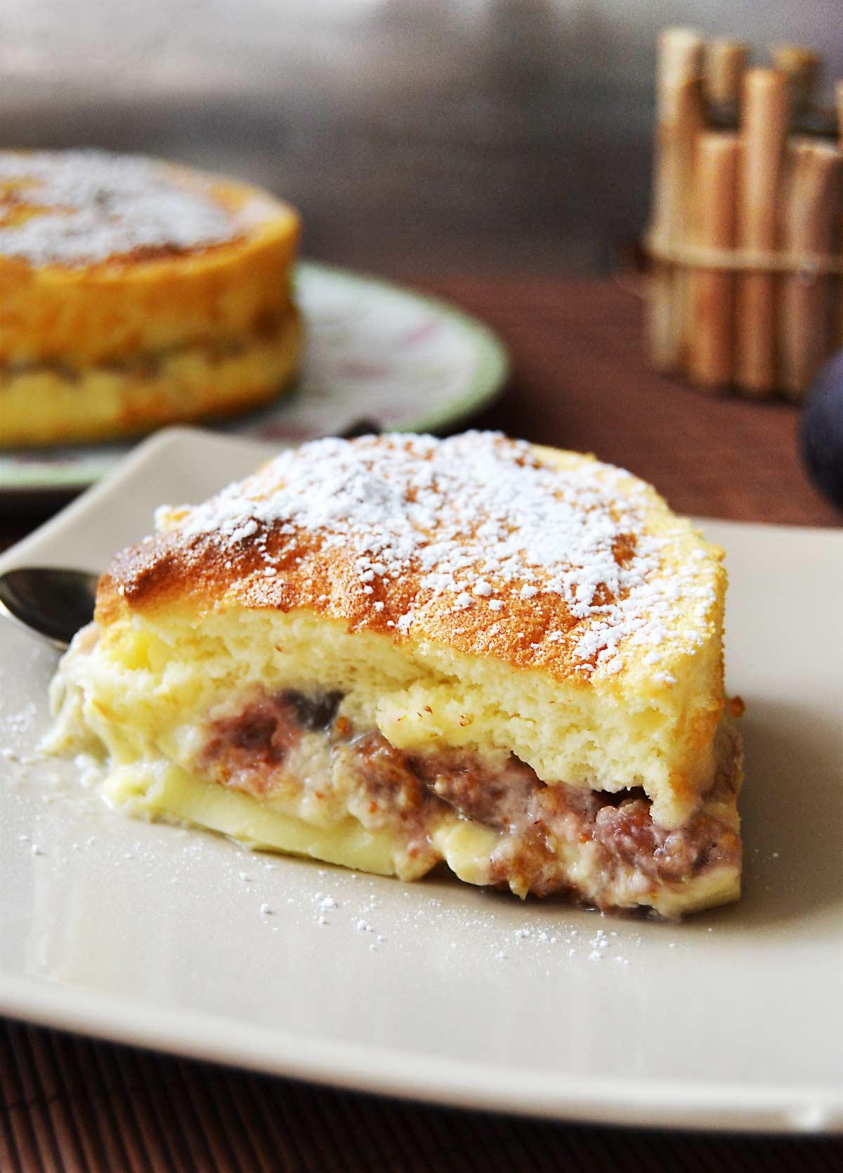 Gâteau magique aux figues et au miel