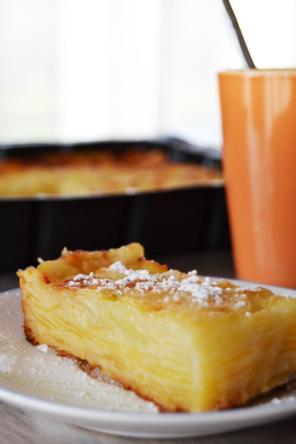 Gâteau invisible pommes-poires - EmilieRamènesaFraise