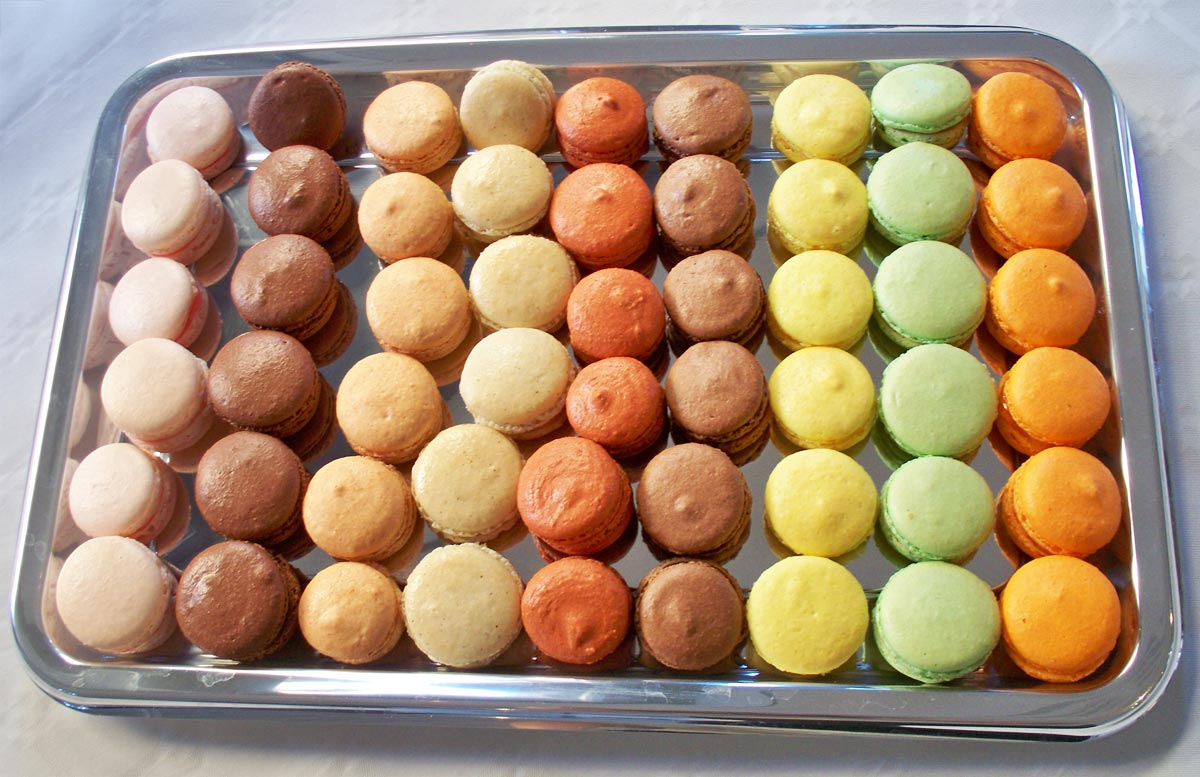 Assortiments de macarons N°1 - EmilieRamèneSaFraise