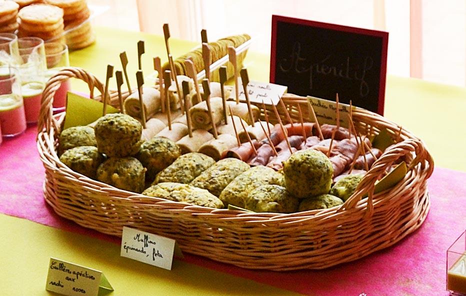 Mini-cakes épinards et feta