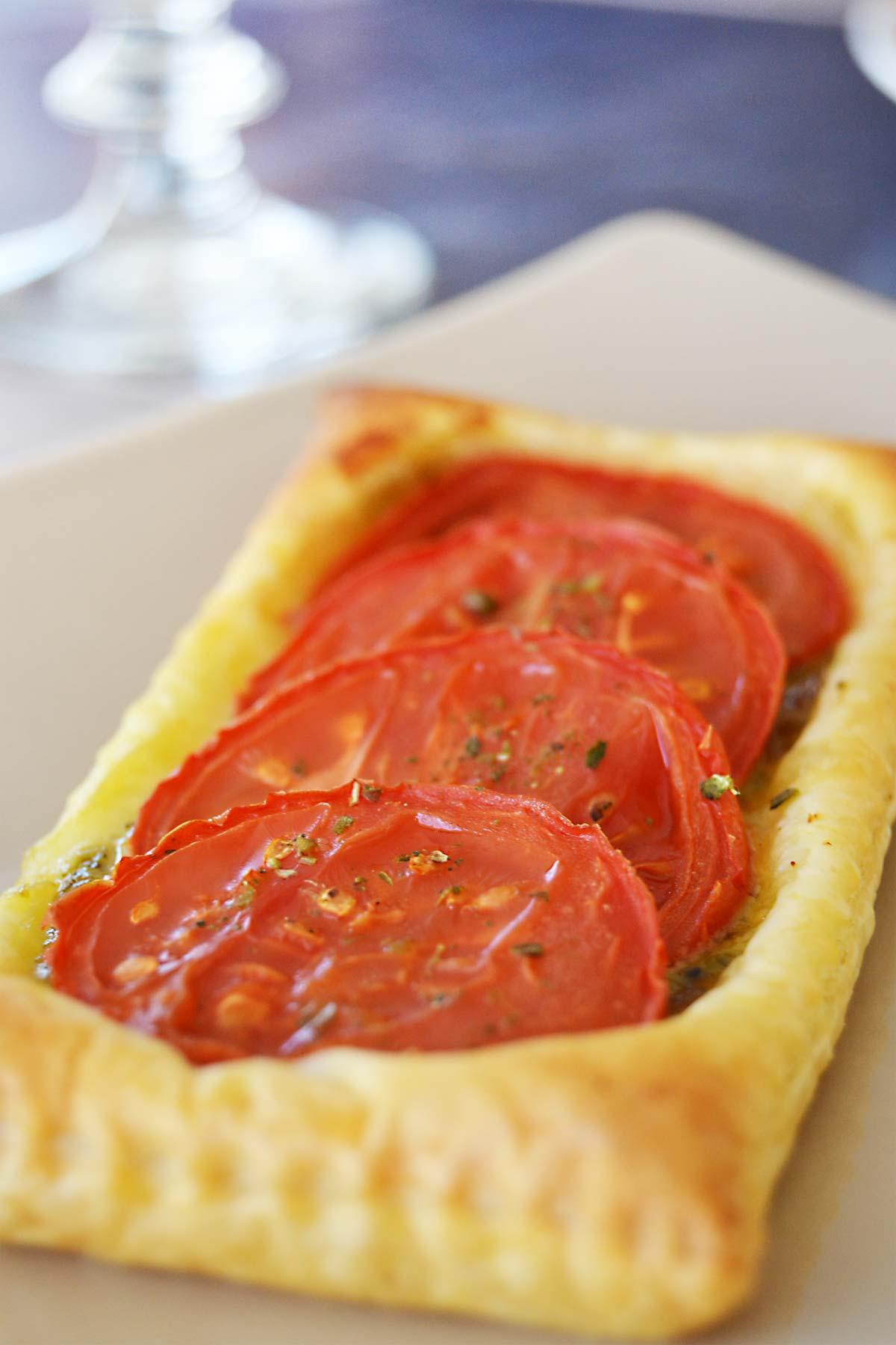 Tartelettes tomate et pesto