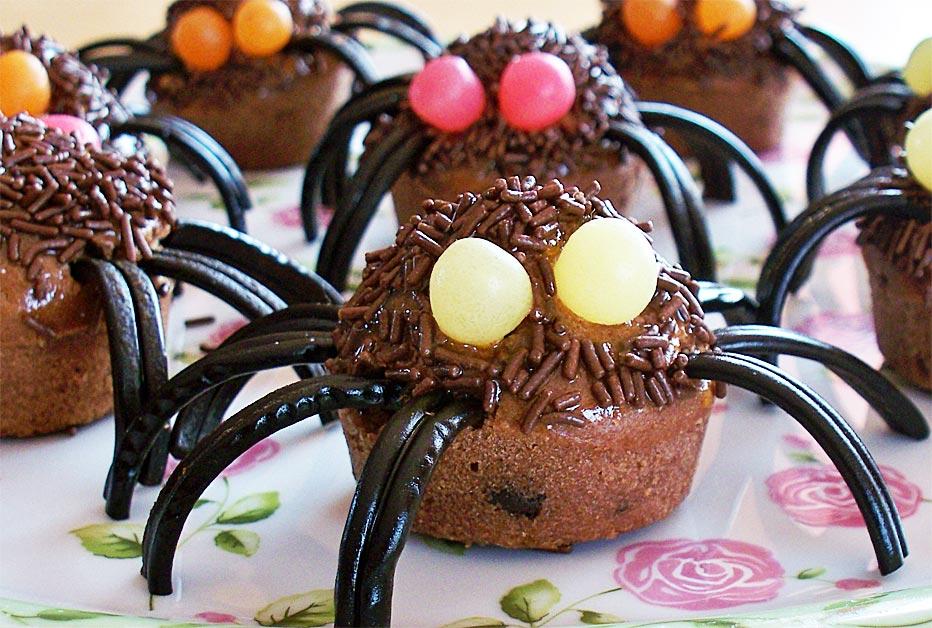 Horribles araignées pour Halloween