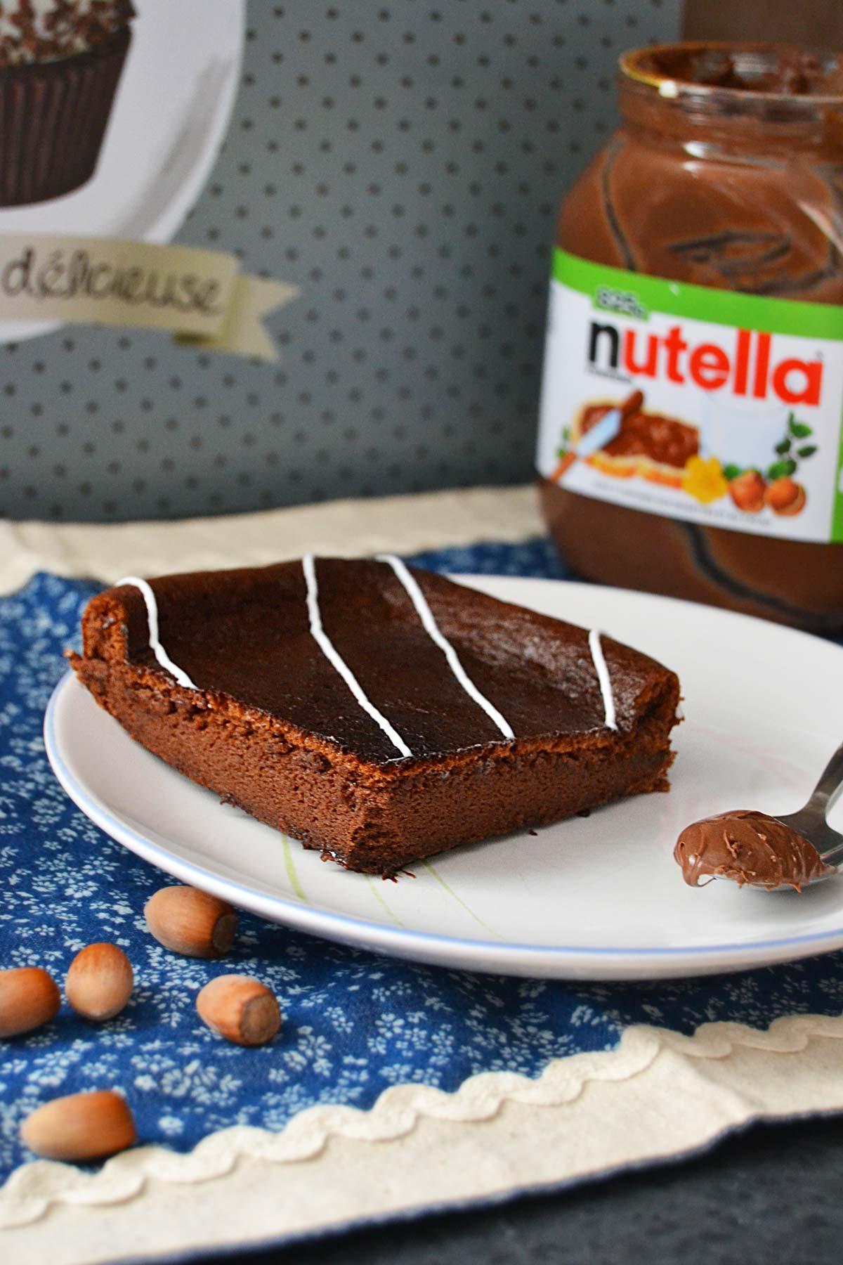 Fondant au Nutella : le gâteau aux 2 ingrédients seulement