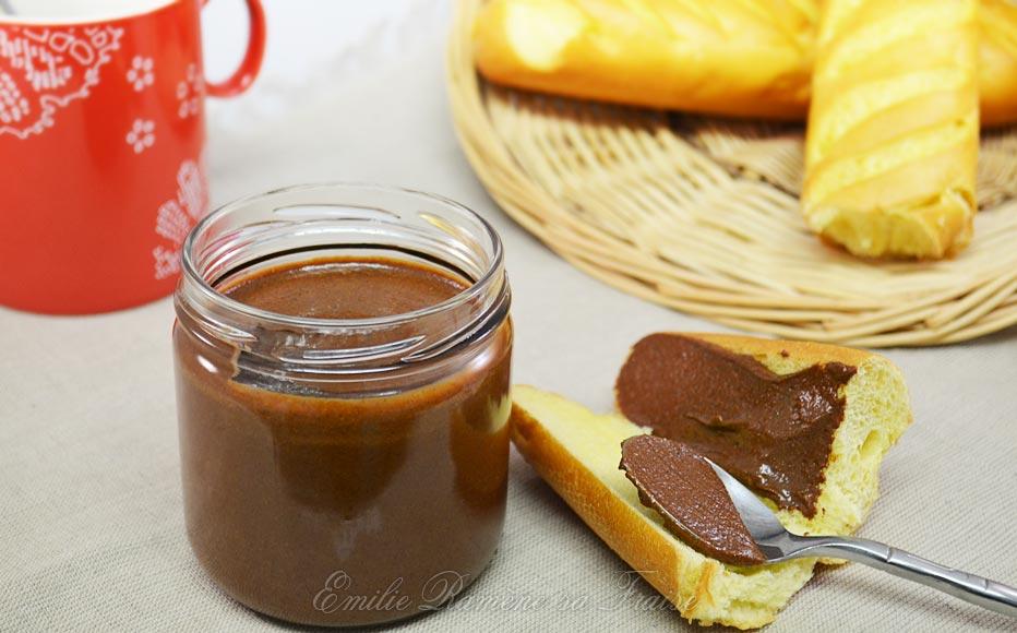 La délicieuse pâte à tartiner au chocolat et aux noisettes de Christophe Michalak