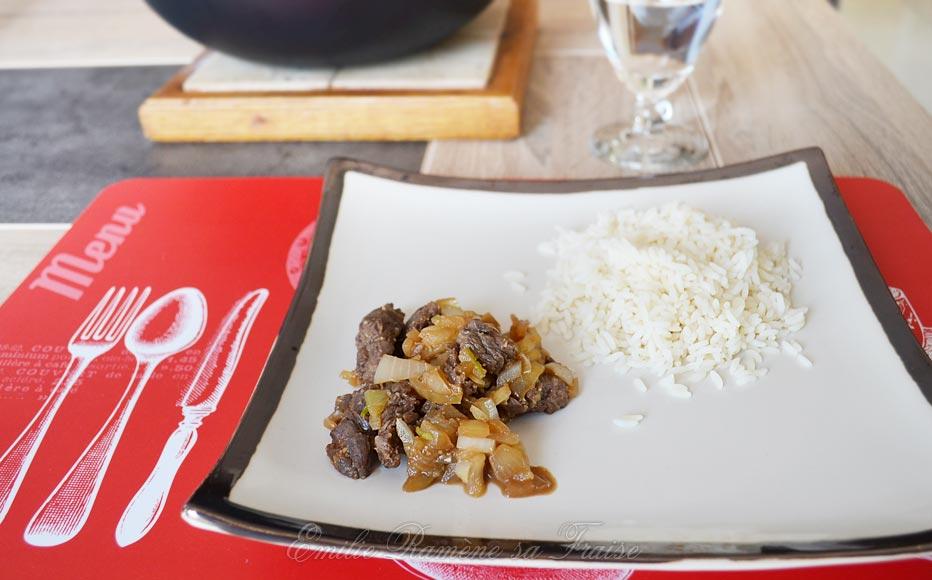 recette wok boeuf
