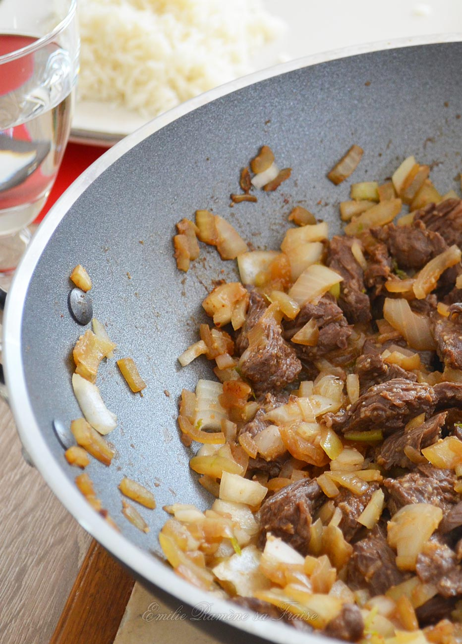 wok bœuf