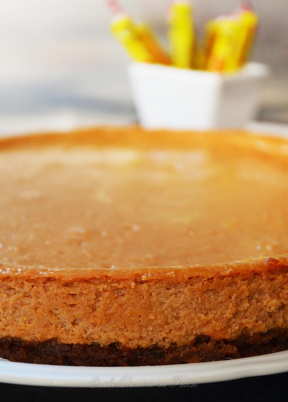 recette Cheesecake Carambar