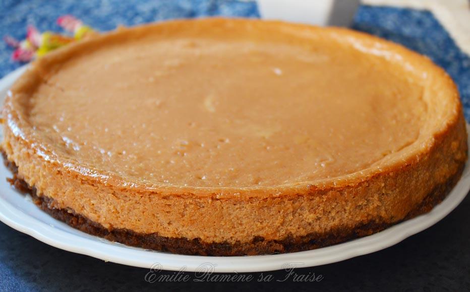 Cheesecake Carambar