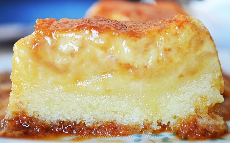 Le flake le cake au flan emilie ram ne sa fraise - Flan de maison ...