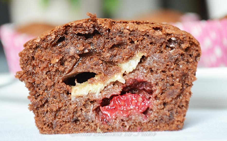 Les muffins chocolat-framboise de Christophe Felder