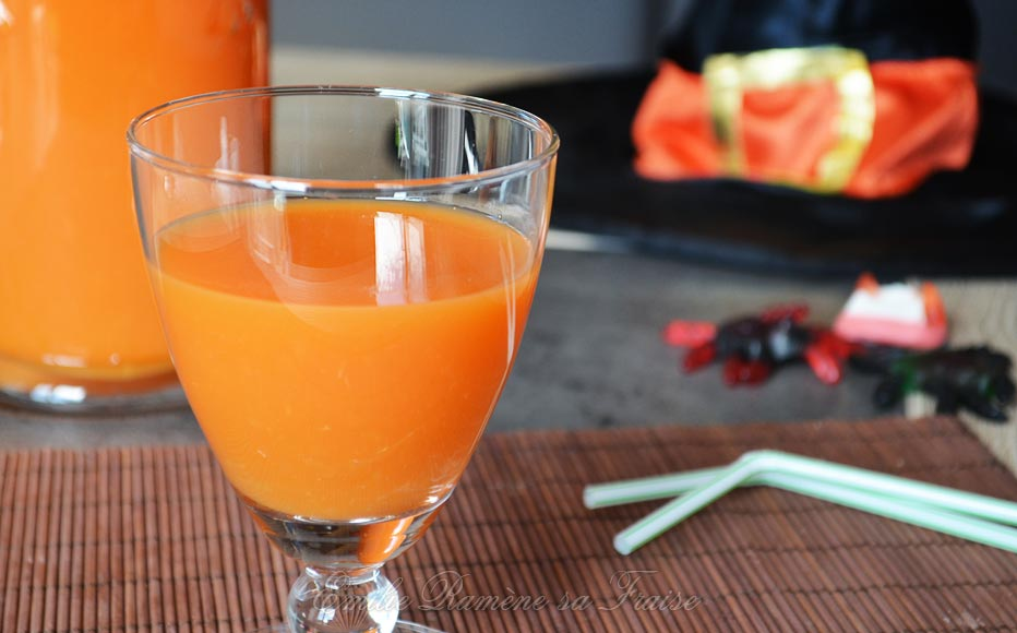 Cocktail d'Halloween, le plein de vitamines