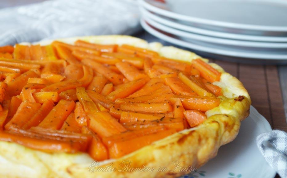 La tatin de carottes