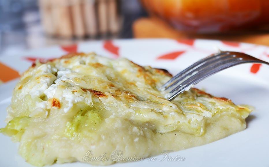 Gratin de ravioles et patates douces