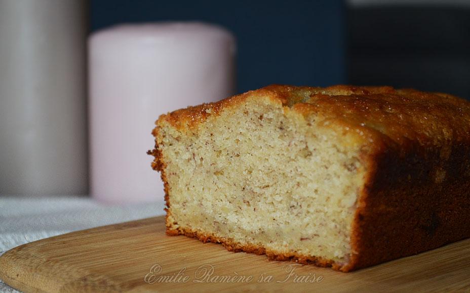 Le Banana Bread est un gâteau venu des Etats-Unis